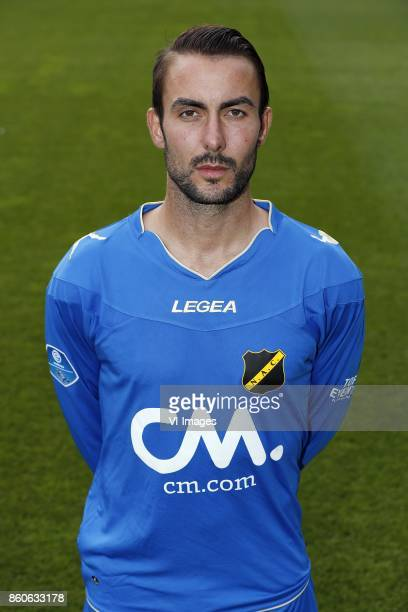 goalkeeper Mark Birighitti of NAC Breda during the team presentation of NAC Breda on August 02 2017 at Autotaalglas trainingscentrum in Zundert The...