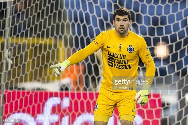 goalkeeper Mathew Ryan of Club Brugge during the Belgian Cup final between Club Brugge and RSC Anderlecht on March 22 2015 at the Koning Boudewijn...