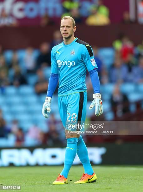 Goalkeeper Matz Sels Newcastle United