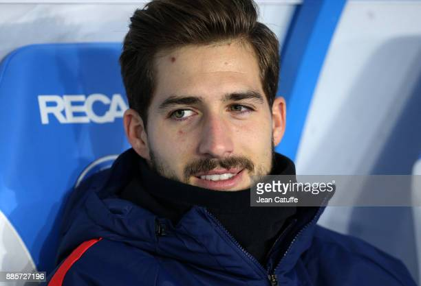 Goalkeeper of PSG Kevin Trapp during the French Ligue 1 match between RC Strasbourg Alsace and Paris Saint Germain at Stade de la Meinau on December...