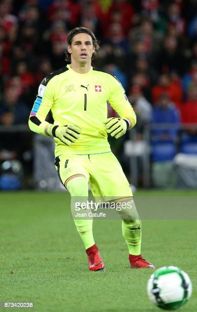 Goalkeeper of Switzerland Yann Sommer during the FIFA 2018 World Cup Qualifier PlayOff Second Leg between Switzerland and Northern Ireland at St...