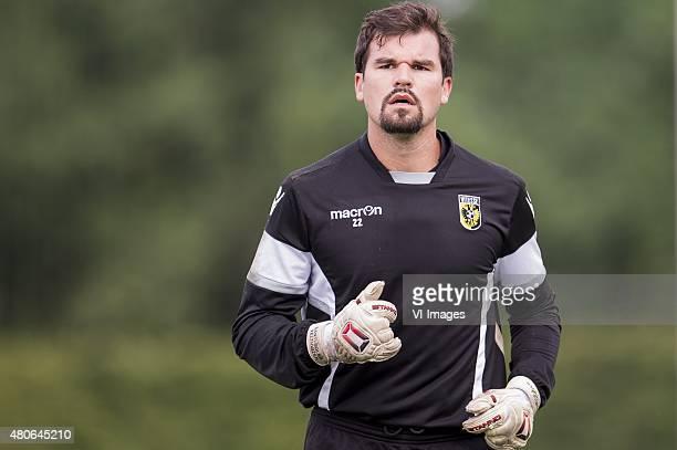 goalkeeper Piet Velthuizen of Vitesse during the training camp of Vitesse Arnhem on July 14 2015 at Feldkirchen Austria