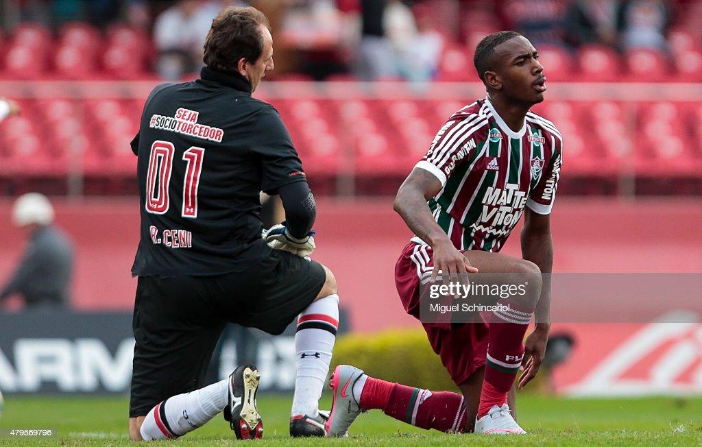 Sao Paulo v Fluminense - Brasileirao Series A 2015