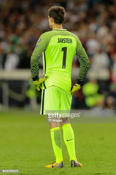 Goalkeeper Rune Jarstein of Norway looks on enttaeuscht enttaeuschung during the FIFA 2018 World Cup Qualifier between Germany and Norway at...