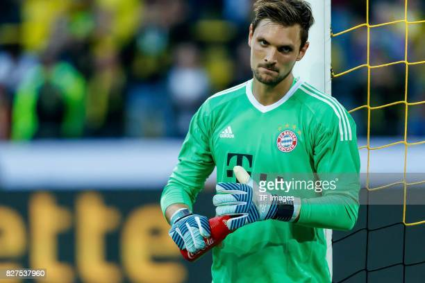 Goalkeeper Sven Ulreich of Bayern Muenchen looks on during the DFL Supercup 2017 match between Borussia Dortmund and Bayern Muenchen at Signal Iduna...