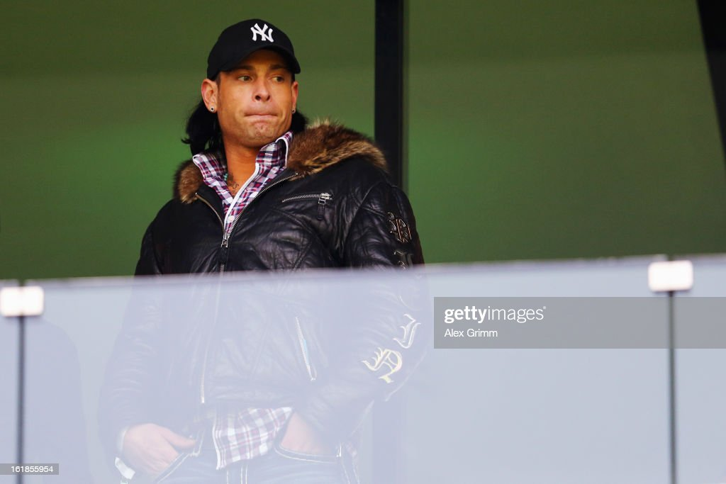 Goalkeeper <a gi-track='captionPersonalityLinkClicked' href=/galleries/search?phrase=Tim+Wiese&family=editorial&specificpeople=635015 ng-click='$event.stopPropagation()'>Tim Wiese</a> of Hoffenheim looks on prior to the Bundesliga match between TSG 1899 Hoffenheim and VfB Stuttgart at Rhein-Neckar-Arena on February 17, 2013 in Sinsheim, Germany.