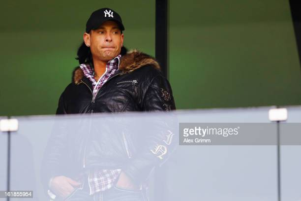 Goalkeeper Tim Wiese of Hoffenheim looks on prior to the Bundesliga match between TSG 1899 Hoffenheim and VfB Stuttgart at RheinNeckarArena on...