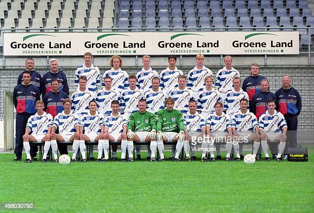 Goalkeeper Trainer John Tuithof Team Manager Wim de Weerdt Jan Bruin Edwin Starke Marcel Boudesteyn Arie Smit Elroy Kromheer Marco Roelofsen...