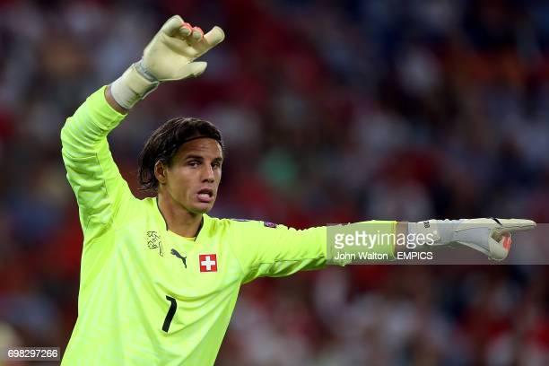 Goalkeeper Yann Sommer Switzerland
