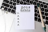 Goal, Plan, Laptop, Letter, List, computer Keyboard