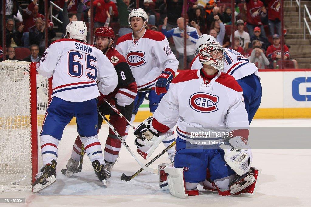 Montreal Canadiens v Arizona Coyotes