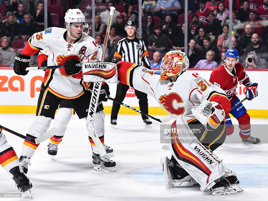Calgary Flames v Montreal Canadiens