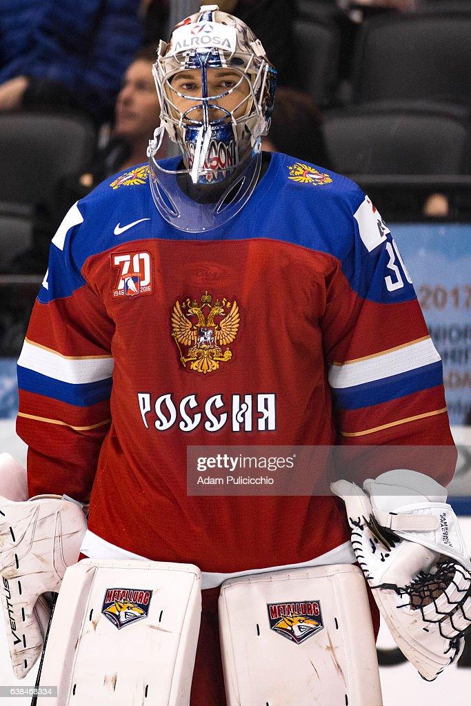 Russia v Slovakia - 2017 IIHF World Junior Championship