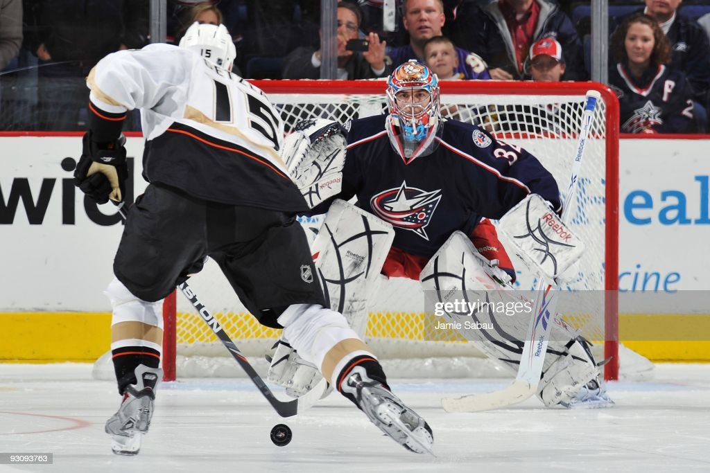 Anaheim Ducks v Columbus Blue Jackets