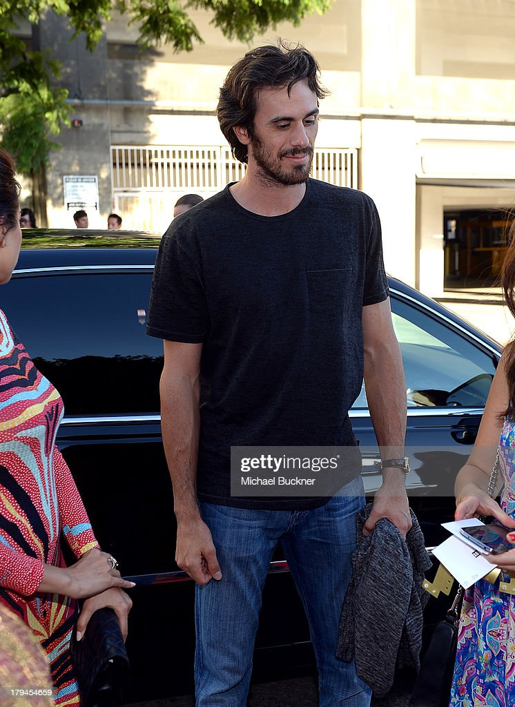 NHL goaltender Ryan Miller attends the premiere and launch party for FXX Network's 'It's Always Sunny In Philadelphia' and 'The League' at Lure on September 3, 2013 in Hollywood, California.