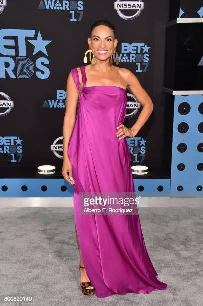 Goapele at the 2017 BET Awards at Microsoft Square on June 25 2017 in Los Angeles California