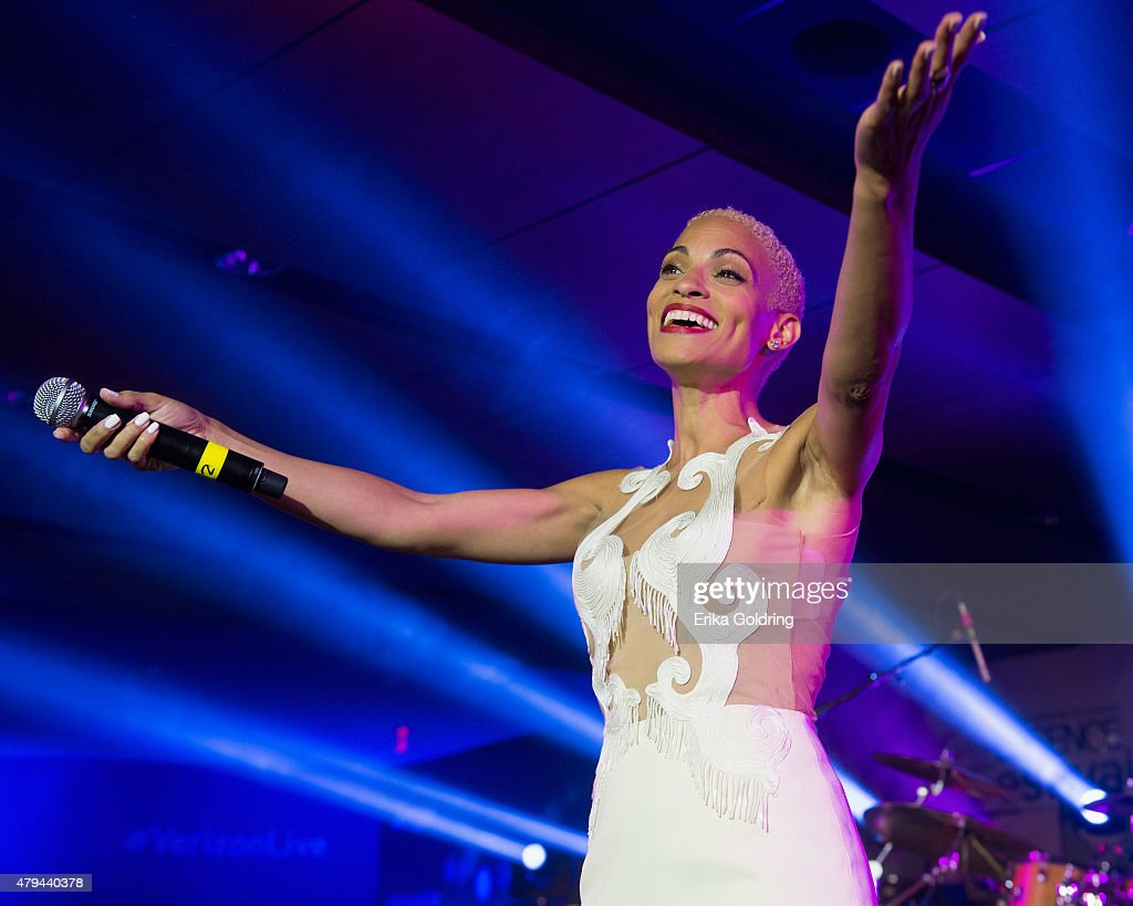Goapele performs at the 2015 Essence Music Festival on July 3, 2015 in New Orleans, Louisiana.