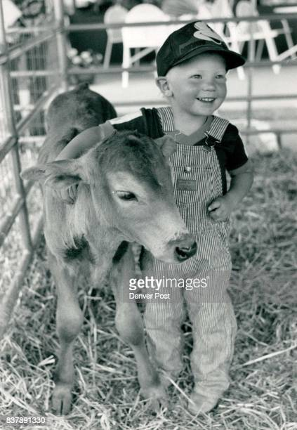 Goats and cows were on display at Alfafa's market at 5910 So University and 4H kids were on hand making butter and ice cream This is National Dairy...