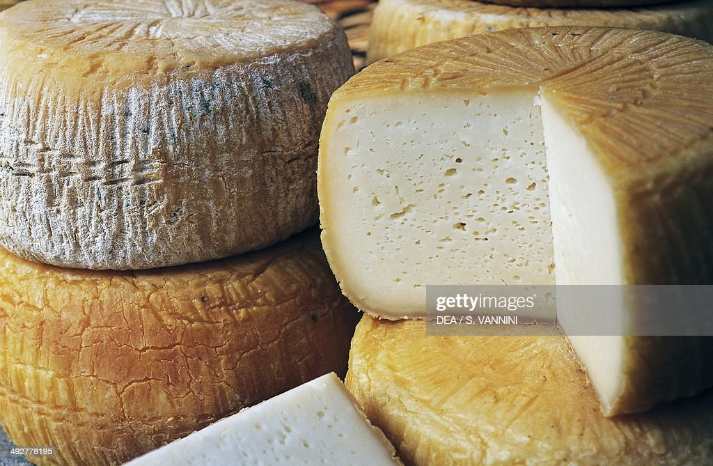 Goat's cheese Scalea Calabria Italy