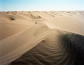 Gobi desert dunes