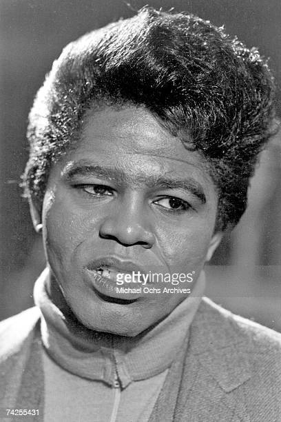'Godfather of Soul' James Brown poses for a portrait in circa 1966