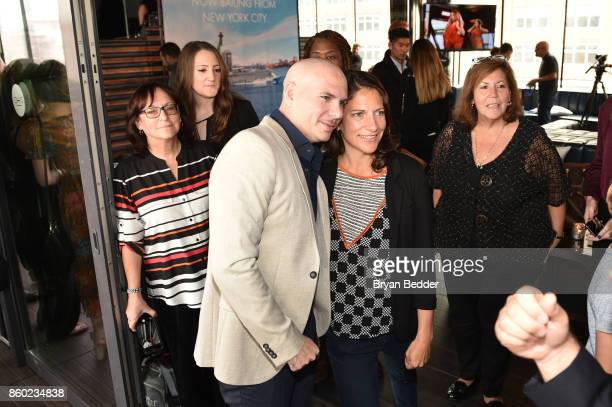 Godfather Pitbull attends Norwegian Escape heads to NYC event at PHD at the Dream Downtown on October 11 2017 in New York City