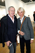 Godfrey Deeny and Stylist Vanessa Bruno attend the 'FIAC 2015 International Contemporary Art Fair' at Le Grand Palais on October 21 2015 in Paris...
