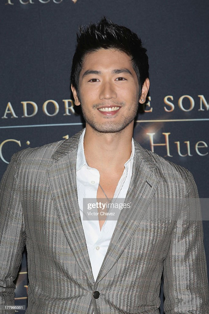 Godfrey Gao attends 'The Mortal Instruments: City of Bones' Mexico City photocall at St Regis Hotel on August 26, 2013 in Mexico City, Mexico.