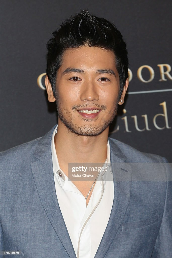 Godfrey Gao attends The Mortal Instruments: City of Bones' Mexico City screening at Auditorio Nacional on August 27, 2013 in Mexico City, Mexico.