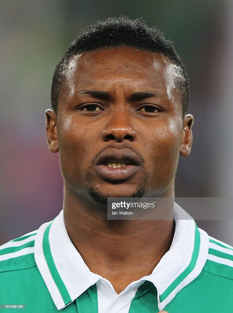 Godfrey Obobona of Nigeria during the 2013 Africa Cup of Nations Final match between Nigeria and Burkina at FNB Stadium on February 10, 2013 in Johannesburg, South Africa.