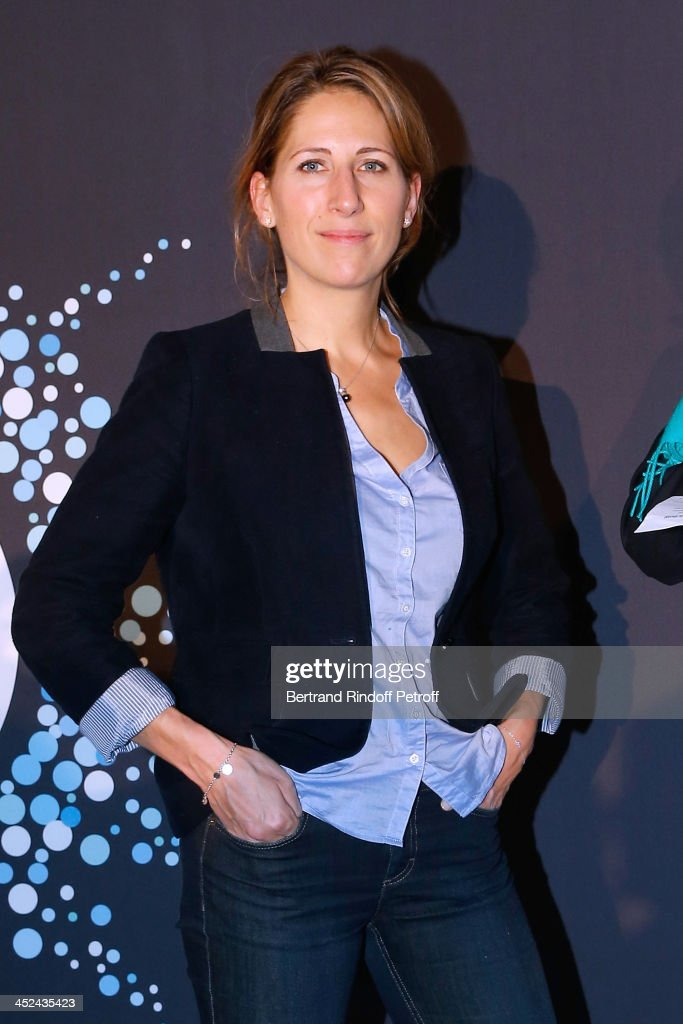 Godmother of One Drop France Maud Fontenoy attends the 'One Drop' Gala, held at Cirque du Soleil on November 28, 2013 in Paris, France.