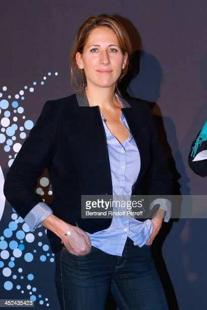 Godmother of One Drop France Maud Fontenoy attends the 'One Drop' Gala held at Cirque du Soleil on November 28 2013 in Paris France