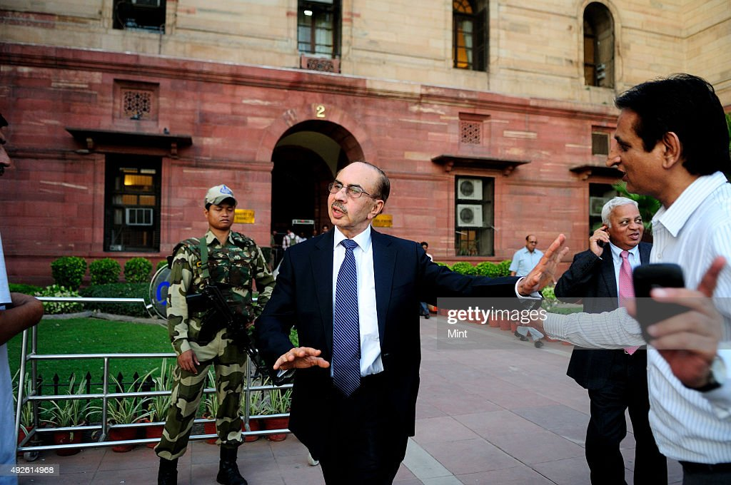 Godrej group chairman Adi Godrej after meeting with Finance Minister P Chidambaram on October 4 2012 in New Delhi India As of 2015 he is the 405th...