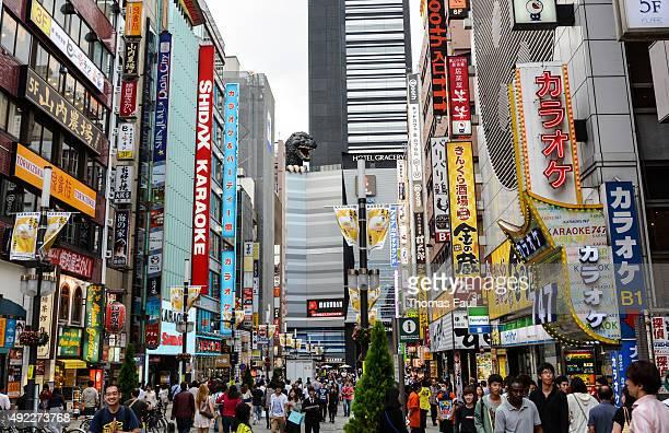 Godzilla in Shinjuko, Japan