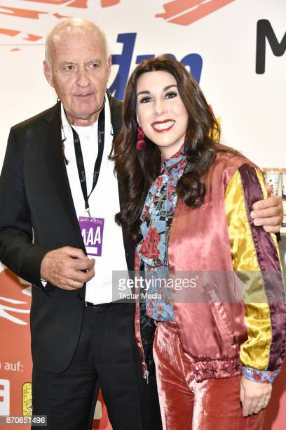 Goetz Werner and Judith Williams during the GLOW The Beauty Convention at Station on November 4 2017 in Berlin Germany