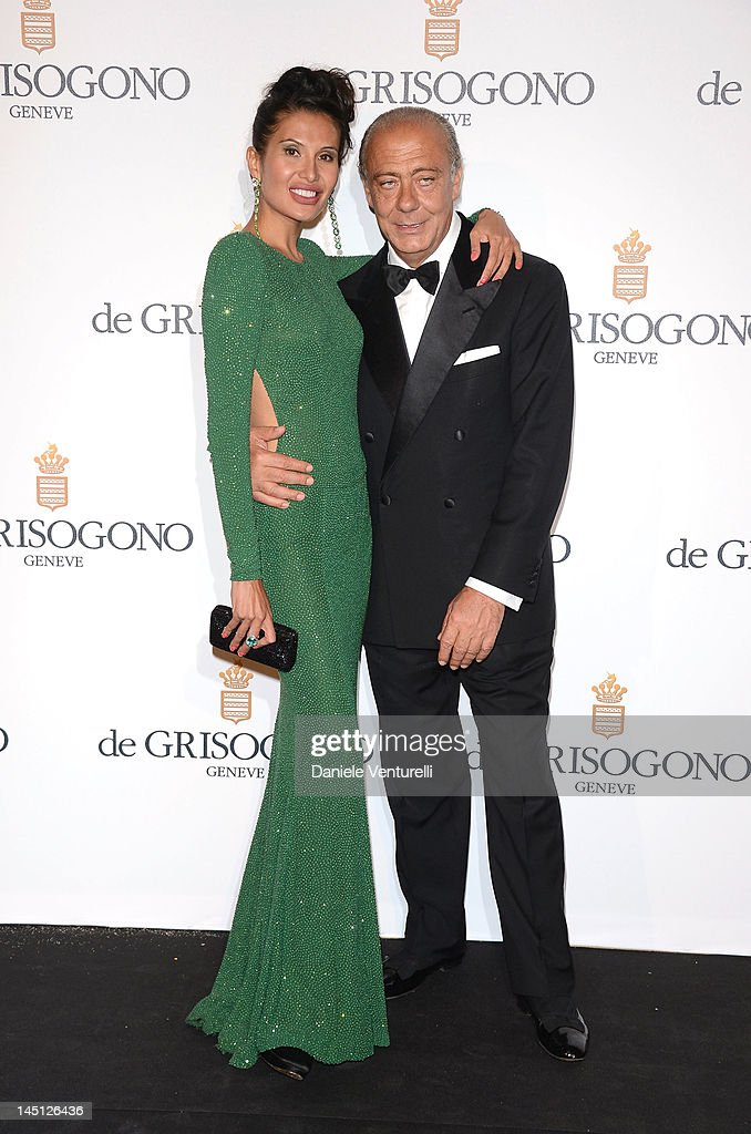 Goga Ashkenazi and Fawaz Gruosi attends the de Grisogono Party during the 65th Annual Cannes Film Festival at Hotel Du Cap on May 23 2012 in Antibes...