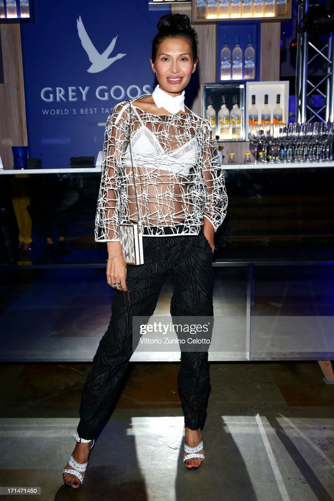 Goga Ashkenazi attends Grey Goose Le Loft L'Officiel Party on June 24 2013 in Milan Italy