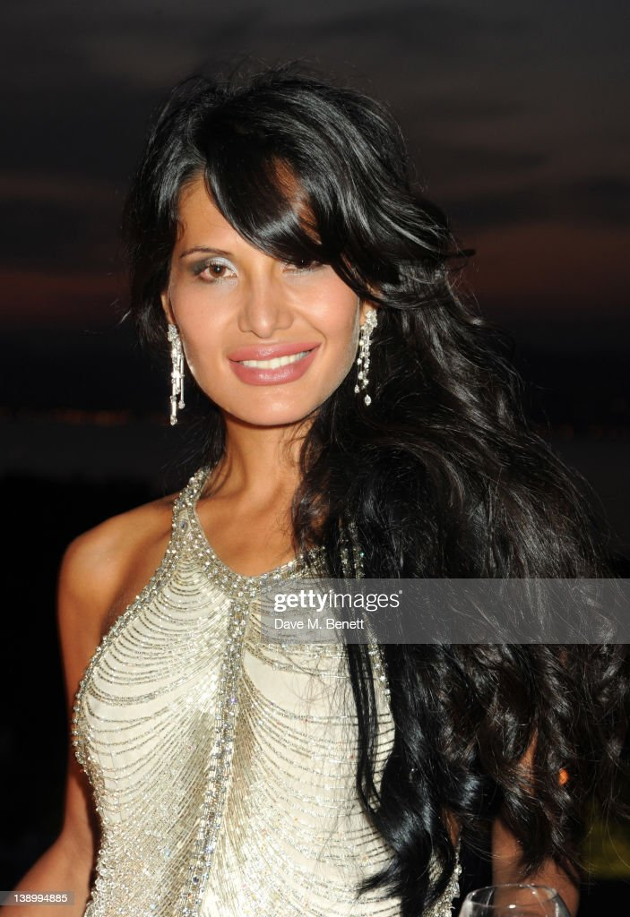 Goga Ashkenazi attends her Summer Party at her Villa on July 16 2010 in St TropezFrance