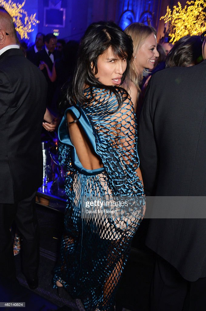 Goga Ashkenazi attends Lisa Tchenguiz's 50th birthday party at the Troxy on January 24 2015 in London England