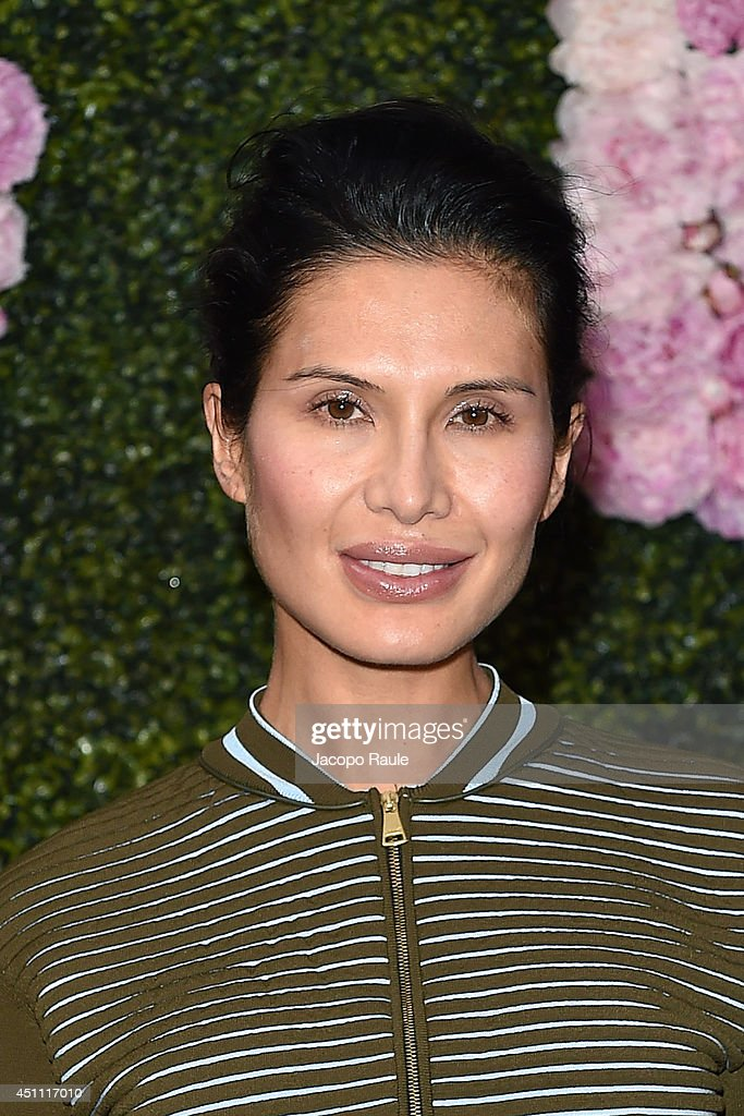 Goga Ashkenazi attends the Stella McCartney Garden Party during the Milan Fashion Week Menswear Spring/Summer 2015 on June 23 2014 in Milan Italy