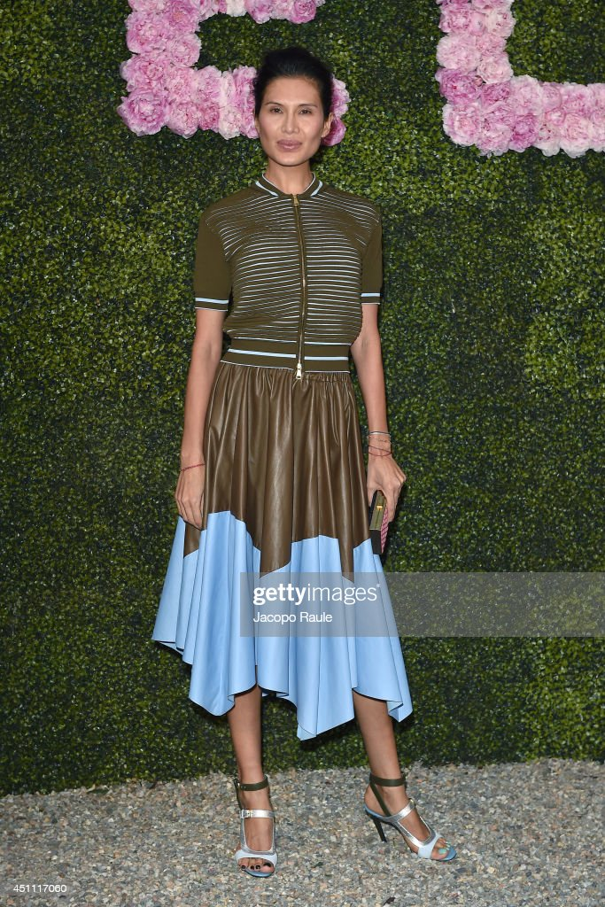 <a gi-track='captionPersonalityLinkClicked' href=/galleries/search?phrase=Goga+Ashkenazi&family=editorial&specificpeople=5867044 ng-click='$event.stopPropagation()'>Goga Ashkenazi</a> attends the Stella McCartney Garden Party during the Milan Fashion Week Menswear Spring/Summer 2015 on June 23, 2014 in Milan, Italy.