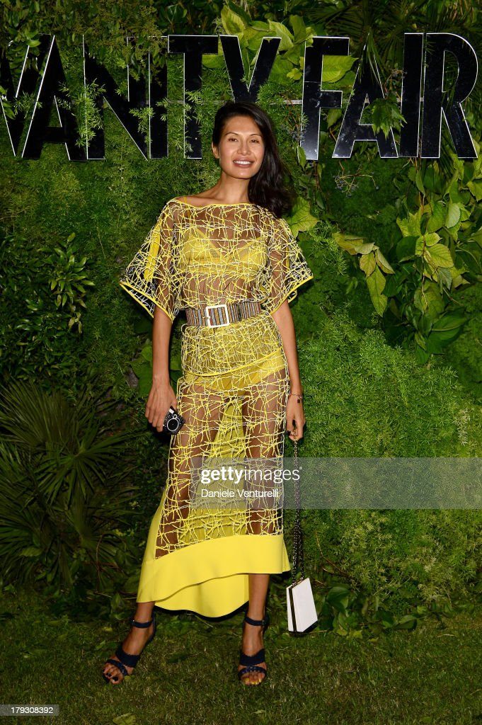 Goga Ashkenazi attends Vanity Fair Celebrate 10th Anniversary during the 70th Venice International Film Festival at Fondazione Giorgio Cini on...