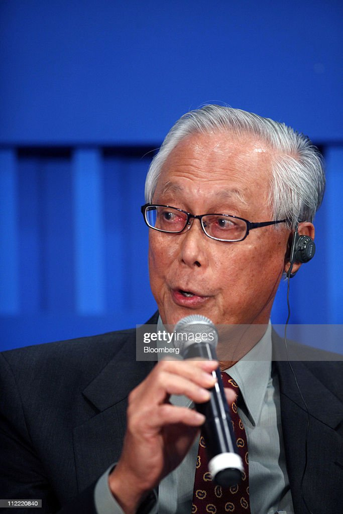 Goh chok tong chairman of the monetary authority of singapore mas