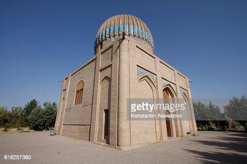 Goharshad Begum tomb in Herat, Afghanistan : Foto de stock