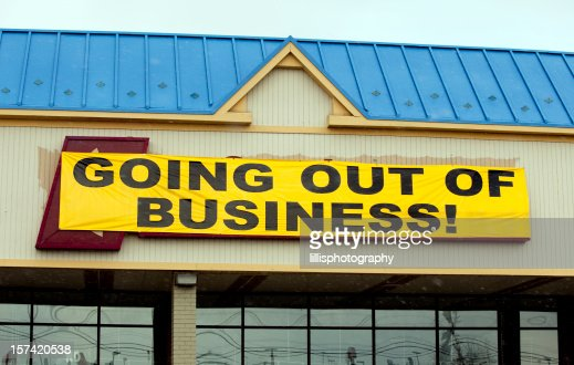 Going Out Of Business Sign