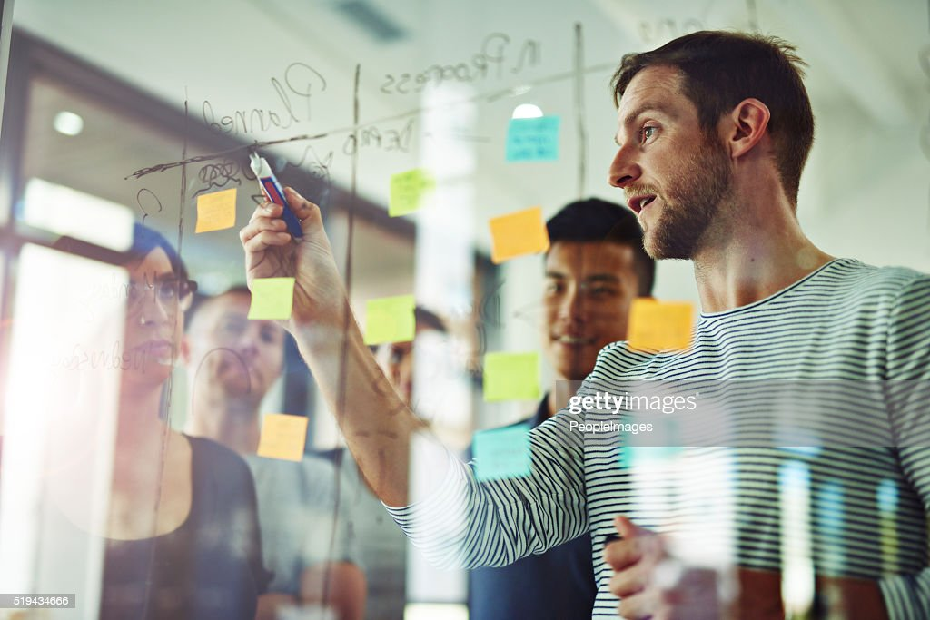 Going over every detail : Stock Photo