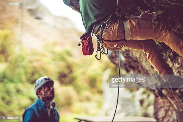 Going rock climbing