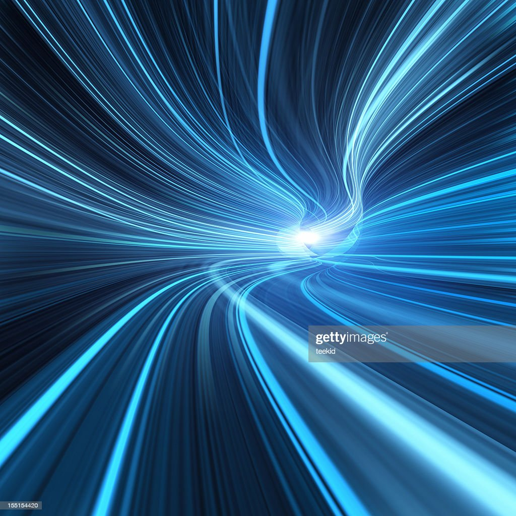 Going Through A Tunnel With High Speed