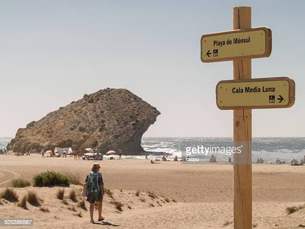 Going to Monsul beach in Cabo de Gata