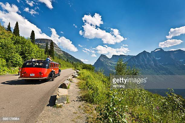 Going To The Sun Road at Glacier National Park, Montana